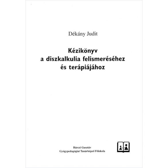 Kézikönyv a diszkalkulia felismeréséhez